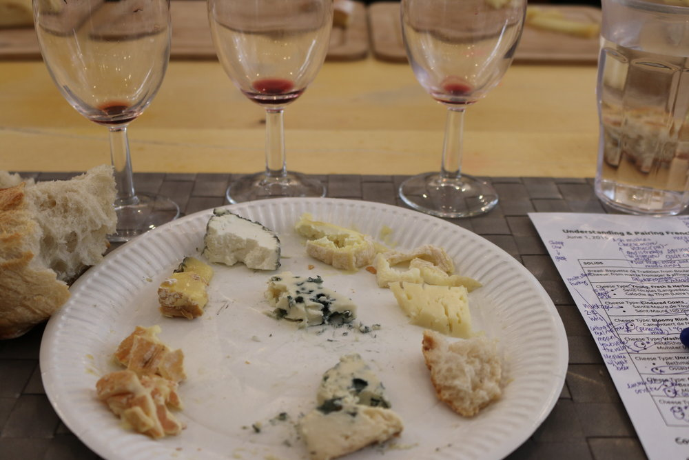 Cheese and Wine Course with Paris by Mouth
