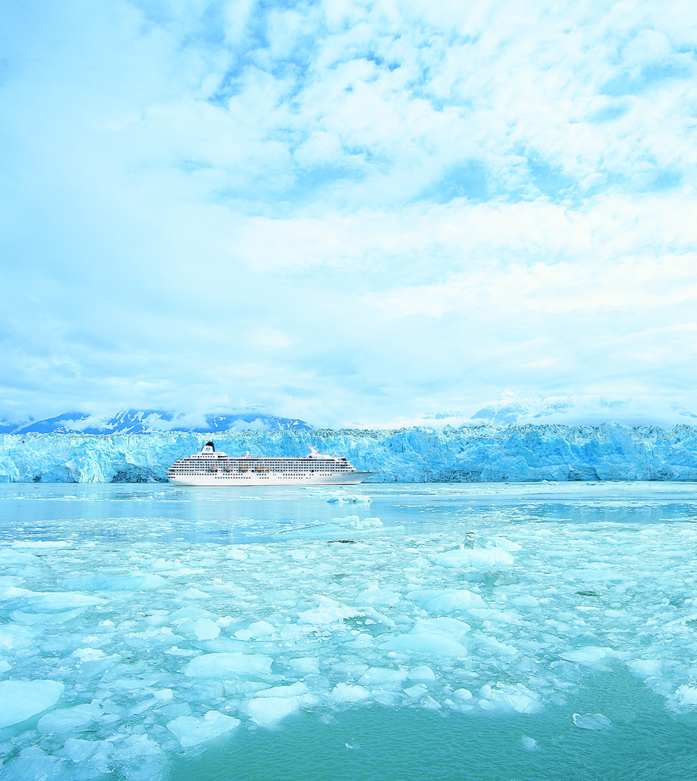 MAJESTIC MIDNIGHT SUN - CRYSTAL SYMPHONYLUXURY CRUISE FROM VANCOUVER TO ANCHORAGE