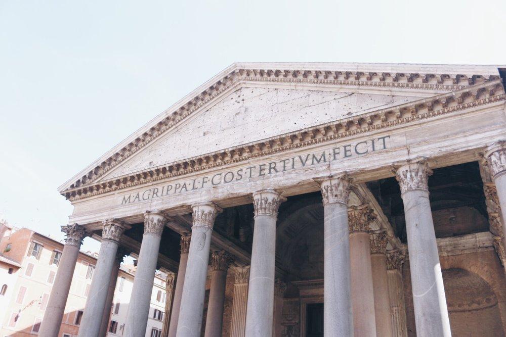 Pantheon Rome travelhappy blog