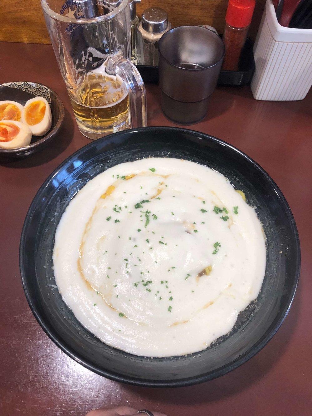 Famous potato ramen — sooooo good