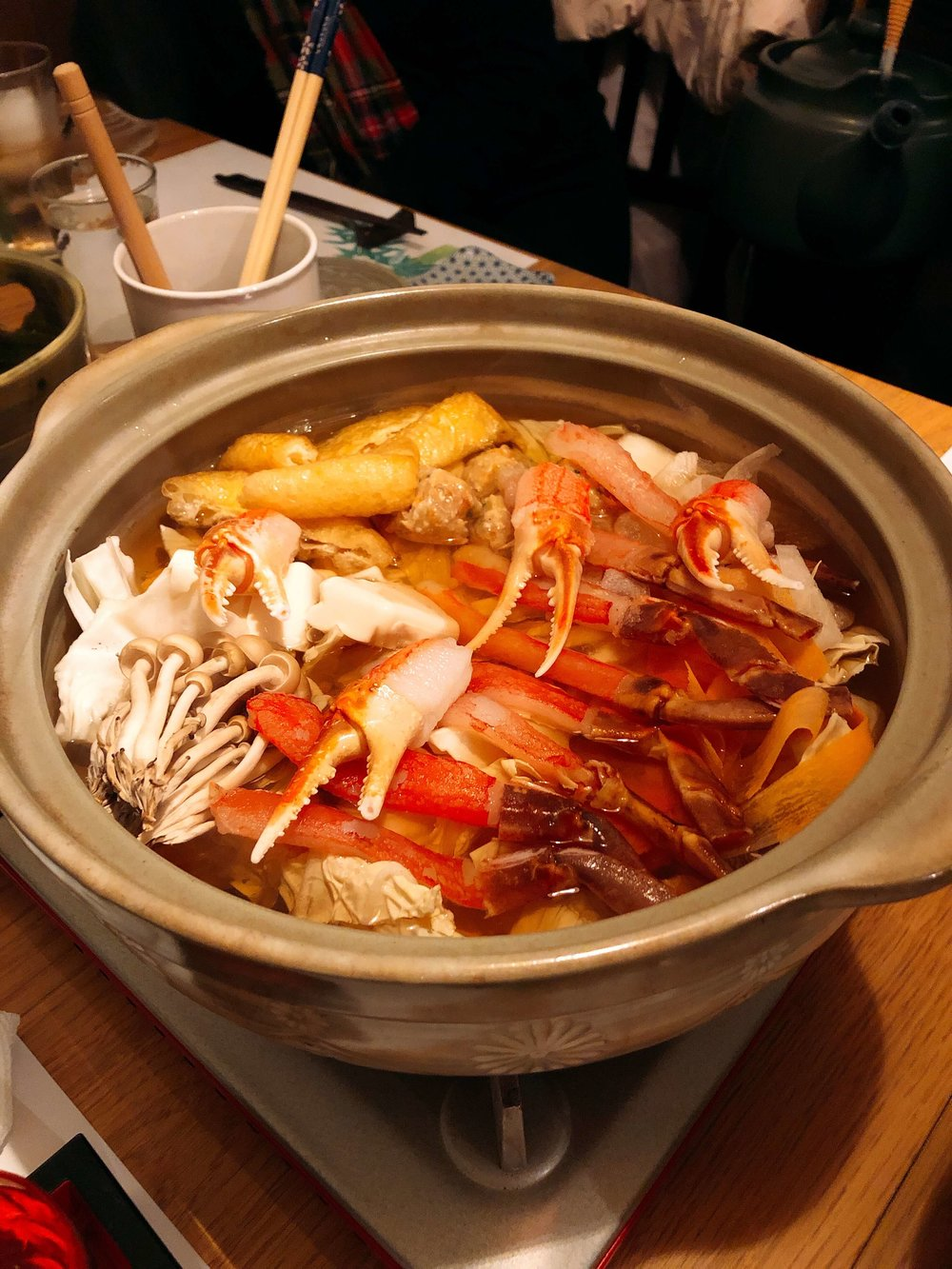 Best places to eat in Niseko Japan -Crab Dining Kanon