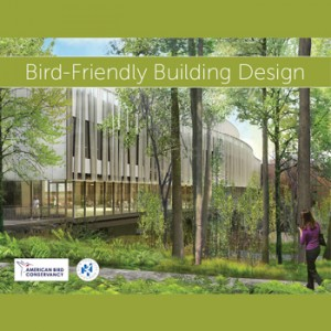 Many cities, counties, states, developers, universities, museums, and other institutions recognize the need for bird friendly architecture. Thanks to the creativity of their architects, there are many examples of bird friendly building design out there on the landscape. This  downloadable booklet by the American Bird Conservancy  has principles and examples.