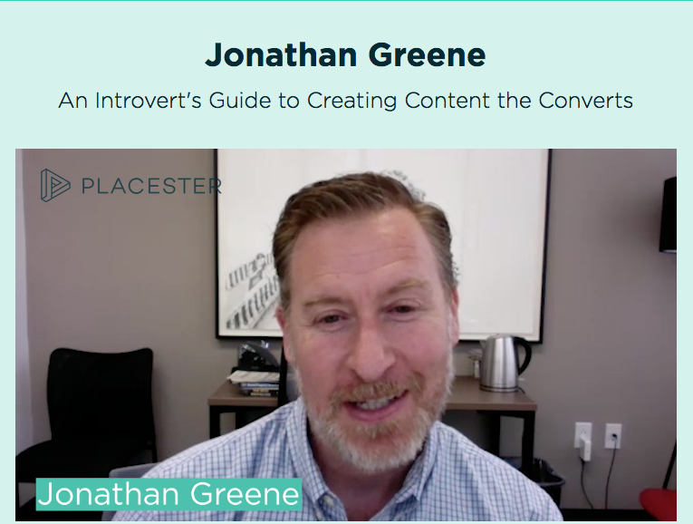 nurture CON by Placester:  An Introvert's Guide to Creating Content that Converts