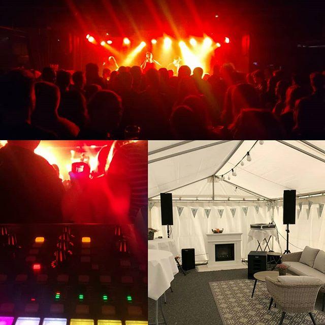 Viikonloppuna hajaannuttiin kahteen paikkaan! Ville toimitti DJ-settinsä lisäksi äänentoiston eläinlääkäriasema Anidentin 25-vuotisbileisiin Kirkkonummella ja Tatu lähti Ouluun miksausreissulle huikean @upelevenofficial kanssa.  #live #sound #dbtech #ingenia #mixing #dj #x32 #behringer #barihkuoulu #ig3t #audio #fatmusicfinland