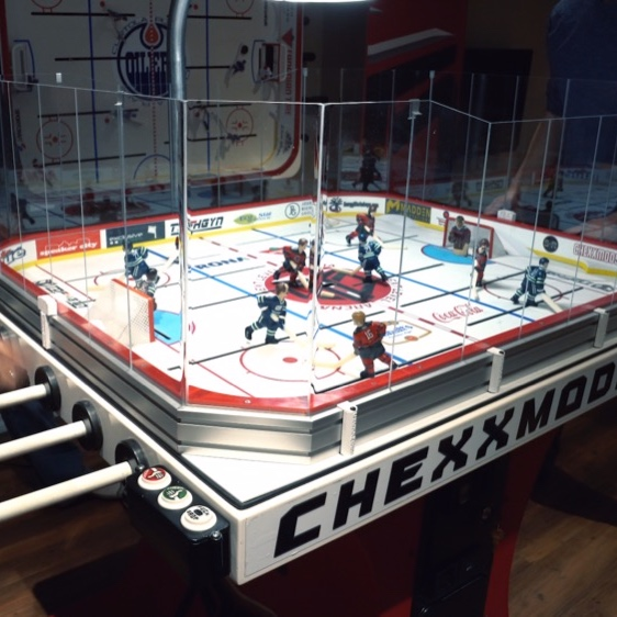 Case Study: TOFHGYN Table Hockey - NEED: TOFHGYN Table Hockey is a new age, fully customizable hockey table game that takes traditional gaming to the next level adding modern elements such as a video screen, custom chants and music and digital data basing of game results. With the level of intricacy this game presents, the company needed a way to visualize and show what they were offering.SOLUTION: We set up a mini tournament in the basement of the founders' house with 10 of his friends and filmed them playing for an evening. The goal was to capture the raw emotion and enjoyment of some buddies playing the game while also highlighting some of the game's unique features.RESULTS: What we created was a fast paced, high energy video highlighting all of the elements that make this game special. The energy, the features and most importantly, the fun that was had makes anyone watching wanting to call 'next' and get in the game.