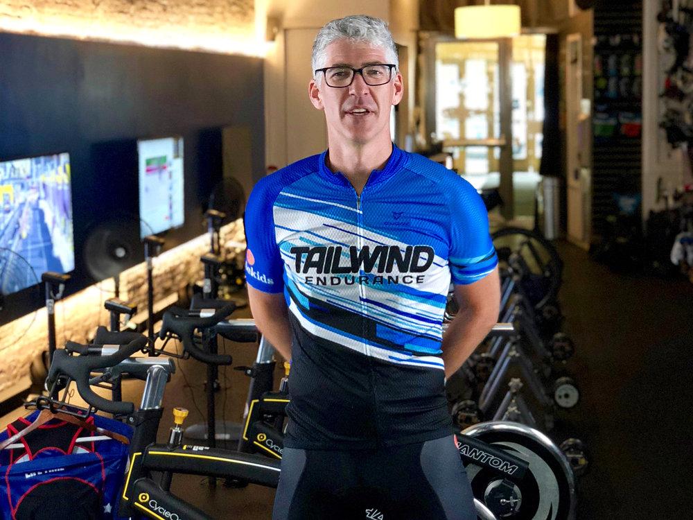 Cycling Coach Earl Walton