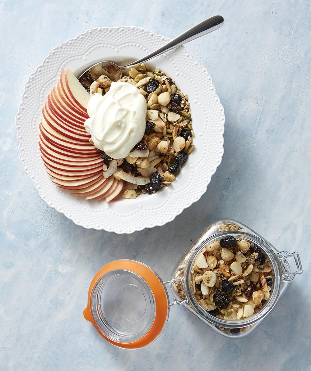 Honey Coconut Macadamia Granola