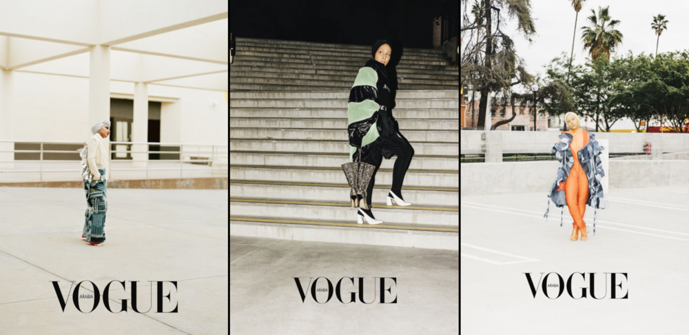Vogue Arabia prints BOMME STUDIO editorial shoot