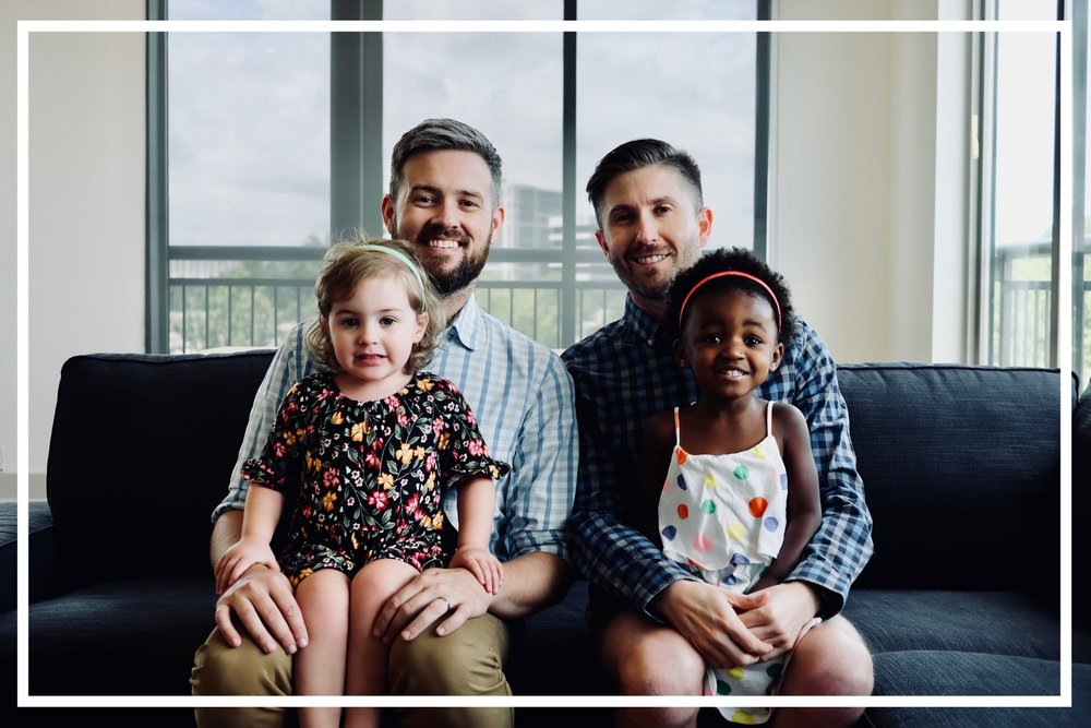 HELLO - We're Jonathan, Thomas, Grace, and Charlotte. A multi-racial family and same-sex couple. We created our family with the help of a foster to adopt program. We currently split our time between Vermont & Georgia, but hope to take our lives on the road full-time in the near future!