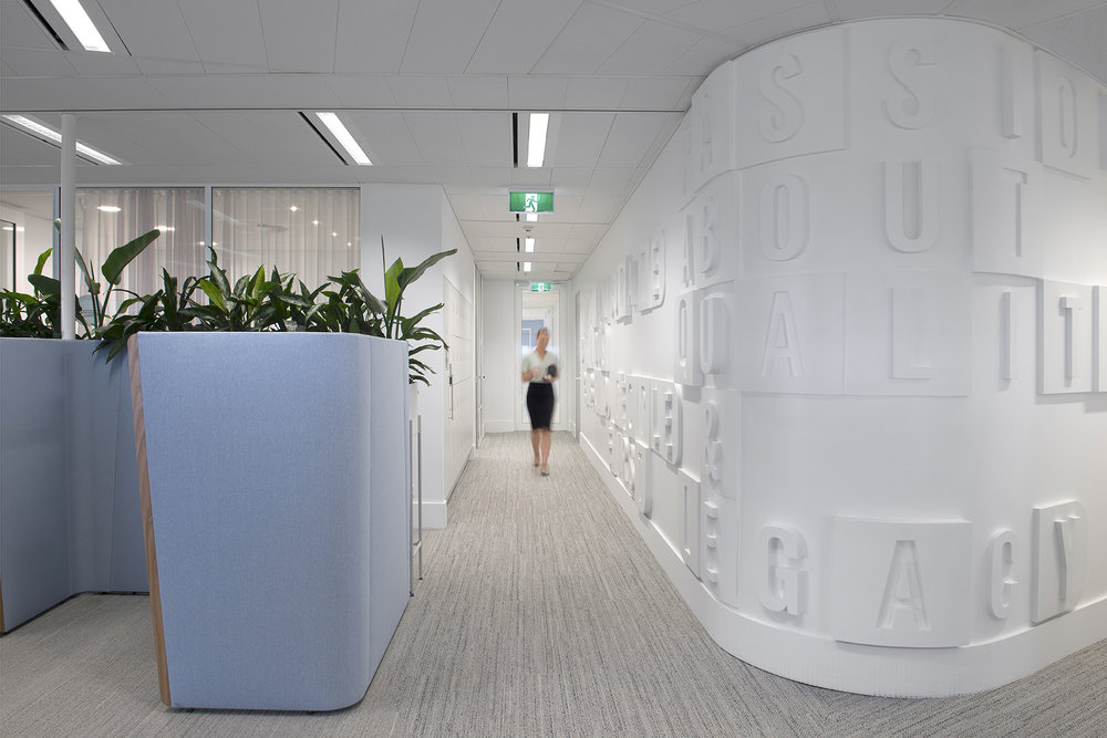 MIRVAC - Workplace Graphics & Signage