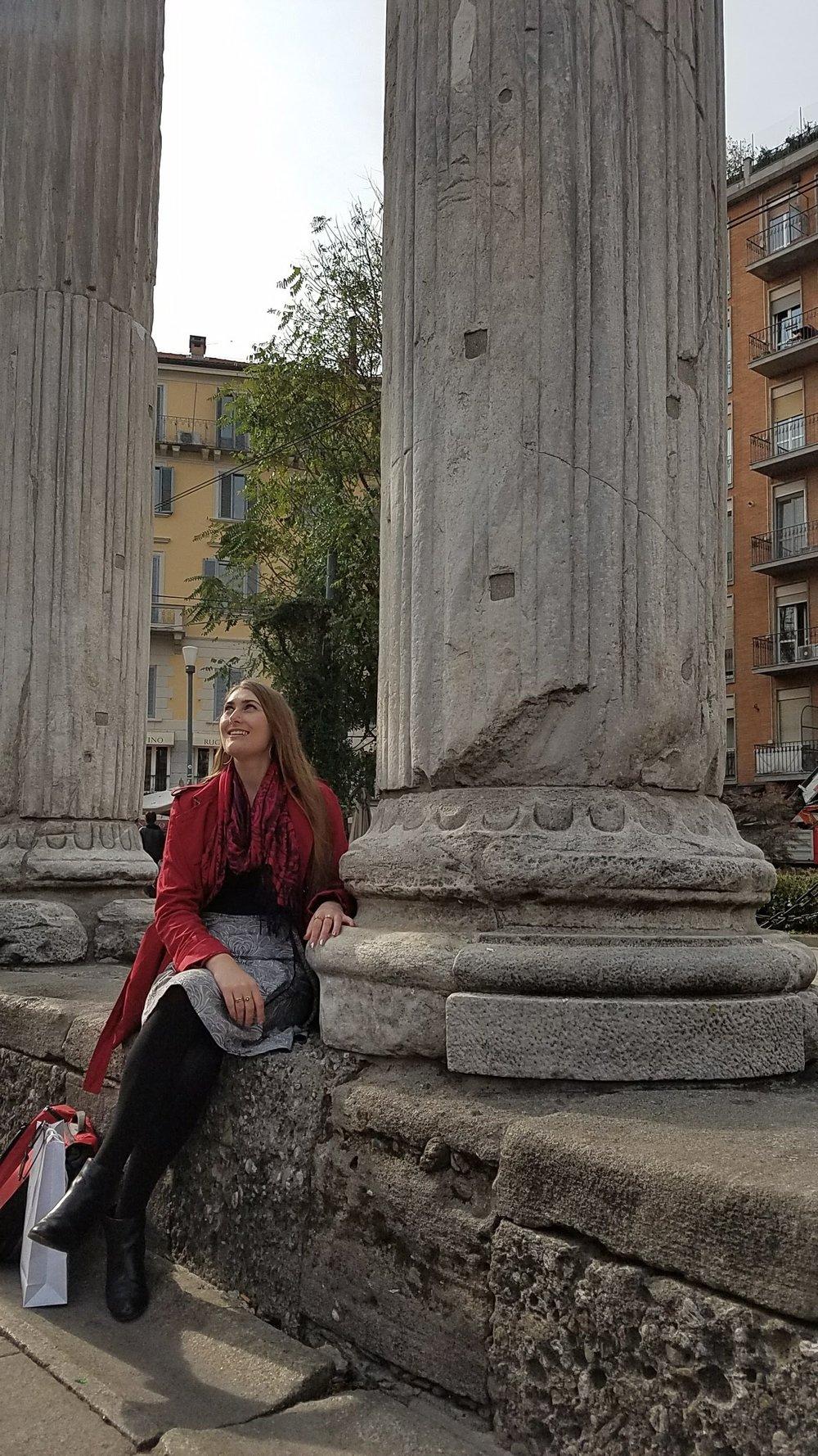 Colonne di San Lorenzo, Milan, Italy