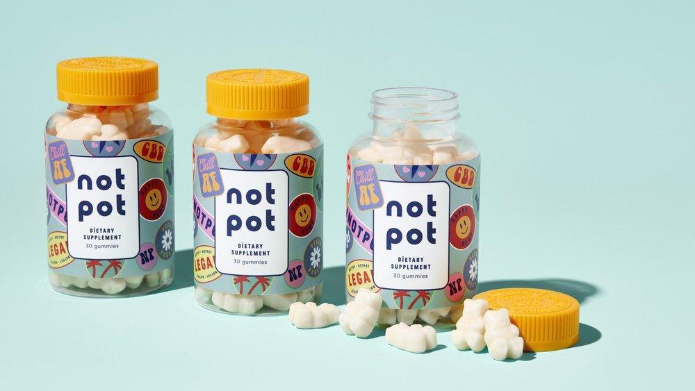Get Your Not Pot Gummies -