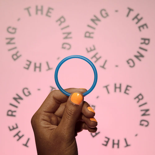 The Ring - The ring is a small bendy circle that you insert into your vagina up as far as it can go (like a tampon), and remove it after 3 weeks. Wait a week (you'll get your period), and insert a new ring for another 3 weeks.