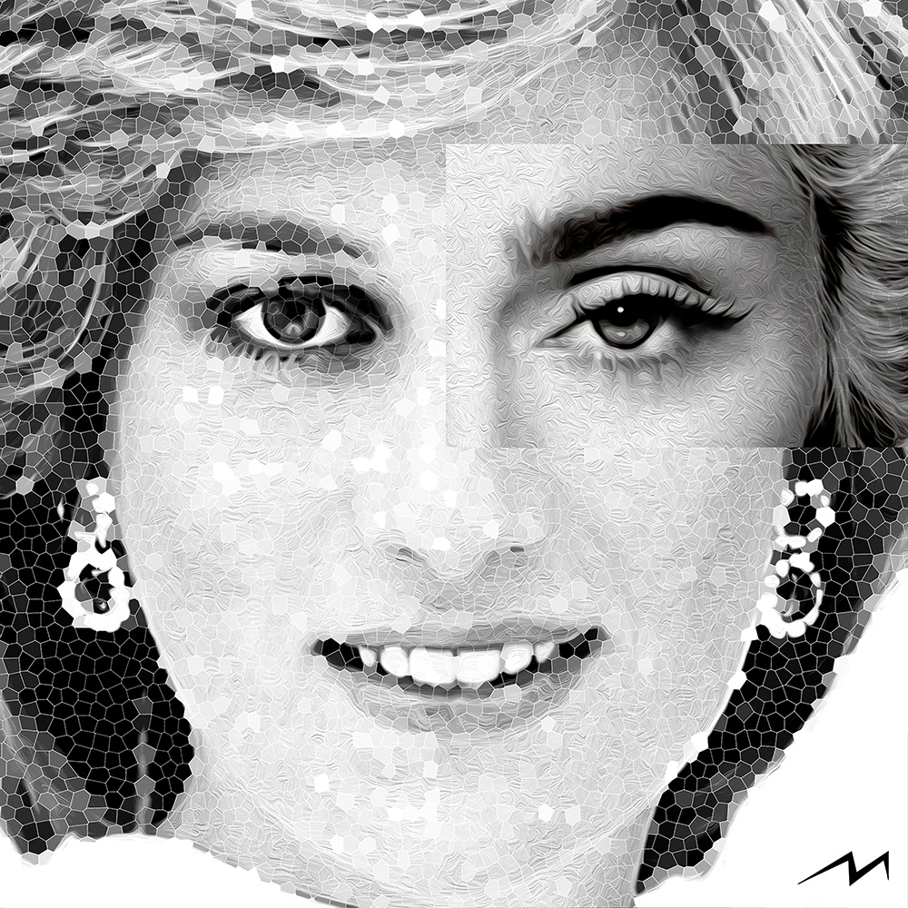 This piece was inspired by a question … Princess Diana and Madonna … Diana broke royal protocol and Madonna, against all odds, broke records by hitting 157 number-one singles across all formats of the Billboard charts. Which one is more Rebel at Heart ?