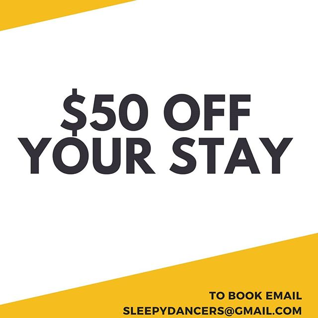 TAG A FRIEND YOU THINK WOULD LOVE THIS! 😄 . We are offering a limited-time promotion!! We ADORE our BRAND NEW Hostel and know you will too!! Email us now at sleepydancers@gmail.com for rates, photos and answers to all your questions! . . . #resort #hotel #travel #vacation #beach #luxury #sea #holiday #summer #resorts #wanderlust #beautiful #photography #relax #hotels #love #pool #instatravel #travelgram #instagood #follow #nature #luxuryhotel #island #thailand #spa #traveling #luxurytravel #fashion #bhfyp