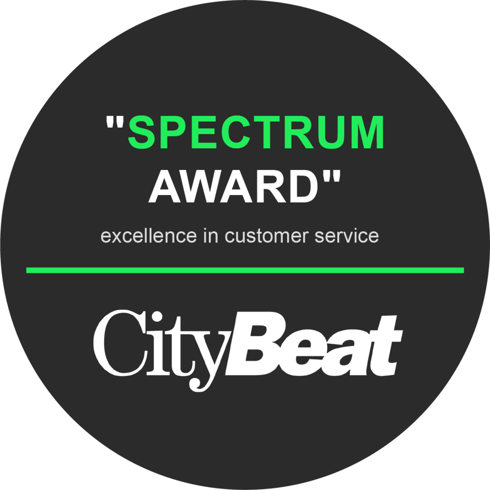 """Spectrum Award"" Excellence in Customer Service by City Beat"