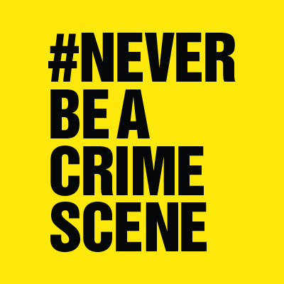 Never Be A Crime Scene