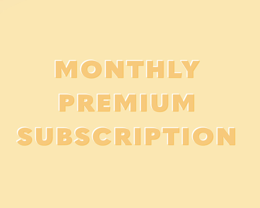 $6 billed monthly - Receive access to all premium list benefits delivered weekly. No commitment, cancel any time.*Monthly subscription begins upon sign up and will automatically renew every 30 days.10% OF ALL PURCHASES ARE DONATED TO THE CHILDRENS HOME PROJECT.