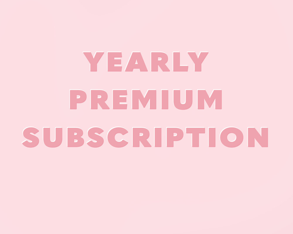 $50 billed yearly - Feeling a little more committed? For just $50/year (save $2 a month), get access to all premium list benefits for a whole year!*Yearly subscription begins upon sign up and will automatically renew in 365 days.10% OF ALL PURCHASES ARE DONATED TO THE CHILDRENS HOME PROJECT.