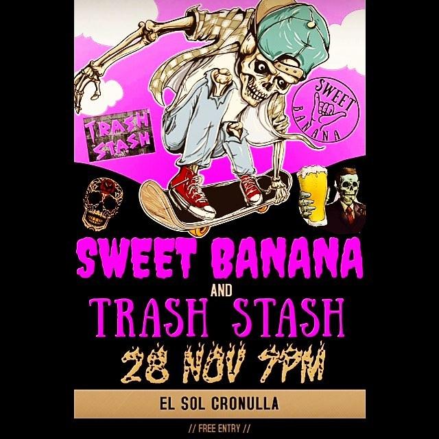 TOMORO! WED 28, EL SOL CRONULLA  #punk #music #live #indiemusic #sydney #footfetishnation #bigbootyproblems #fitnessmotivation #food #sun #nightout #corona #tacos #pussyfucking