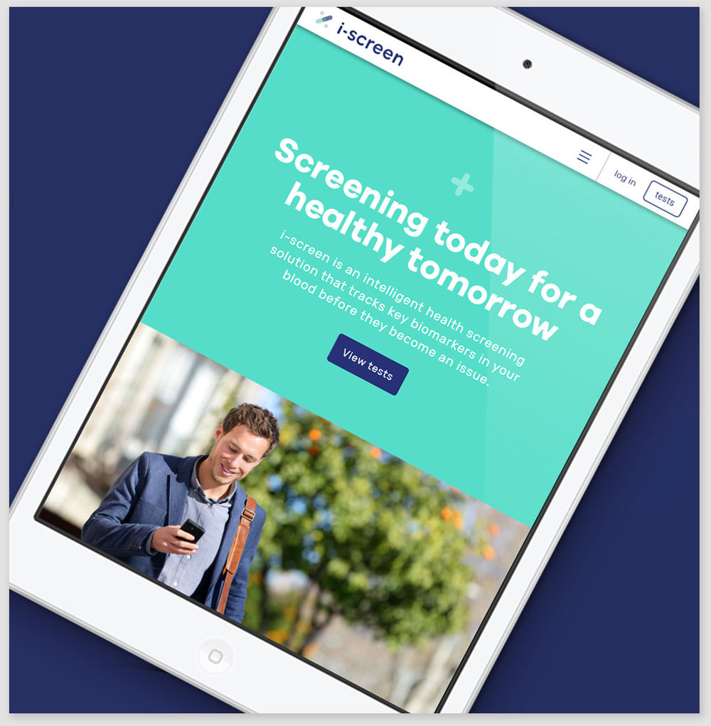 i-screen, screening today for a healthy tomorrow - Bringing together technology and medical expertise, i-screen partnered with Fixate for a user-friendly, health-focussed web application.View case study