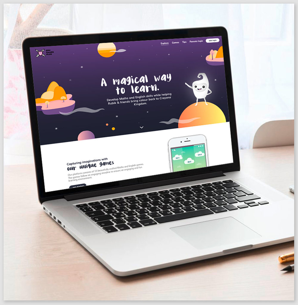 Edugames Plus, online learning made fun - In collaboration with a London-based education company, Fixate created an online game that prepares children for entrance exams at schools across the UK.View case study