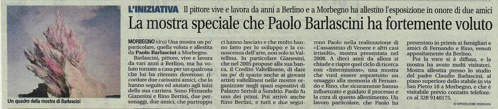 Centrovalle 15/10/18, Grazie Bruno Locatelli.