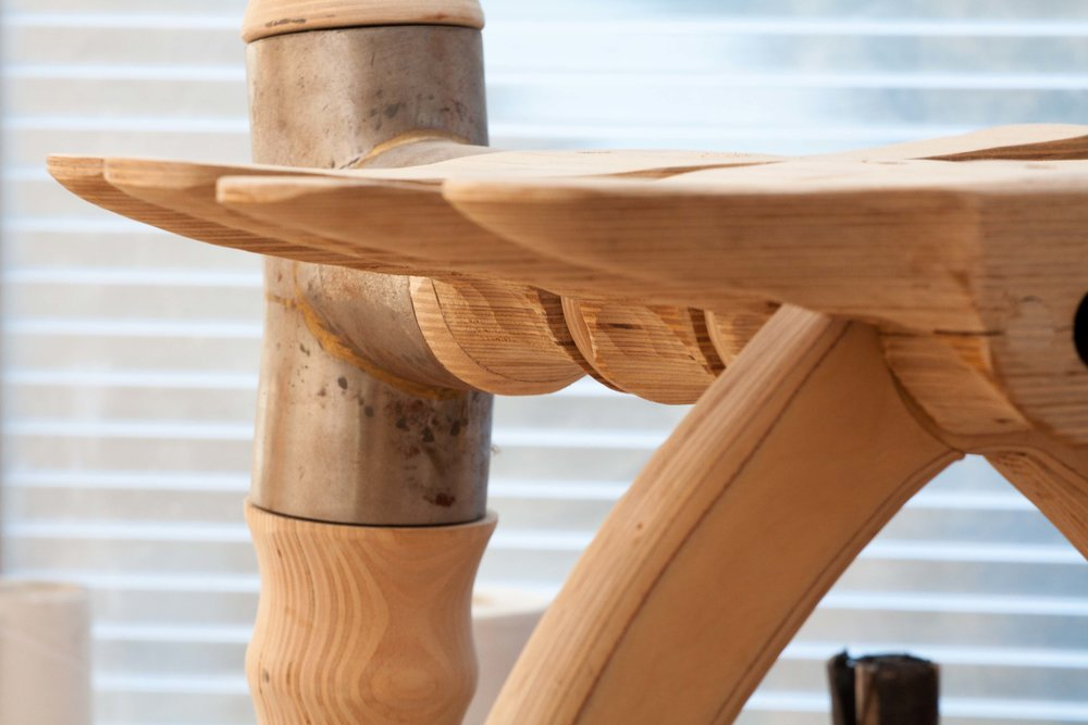 FURNITURE - Free standing Furniture designed and handcrafted in my Antibes Workshop