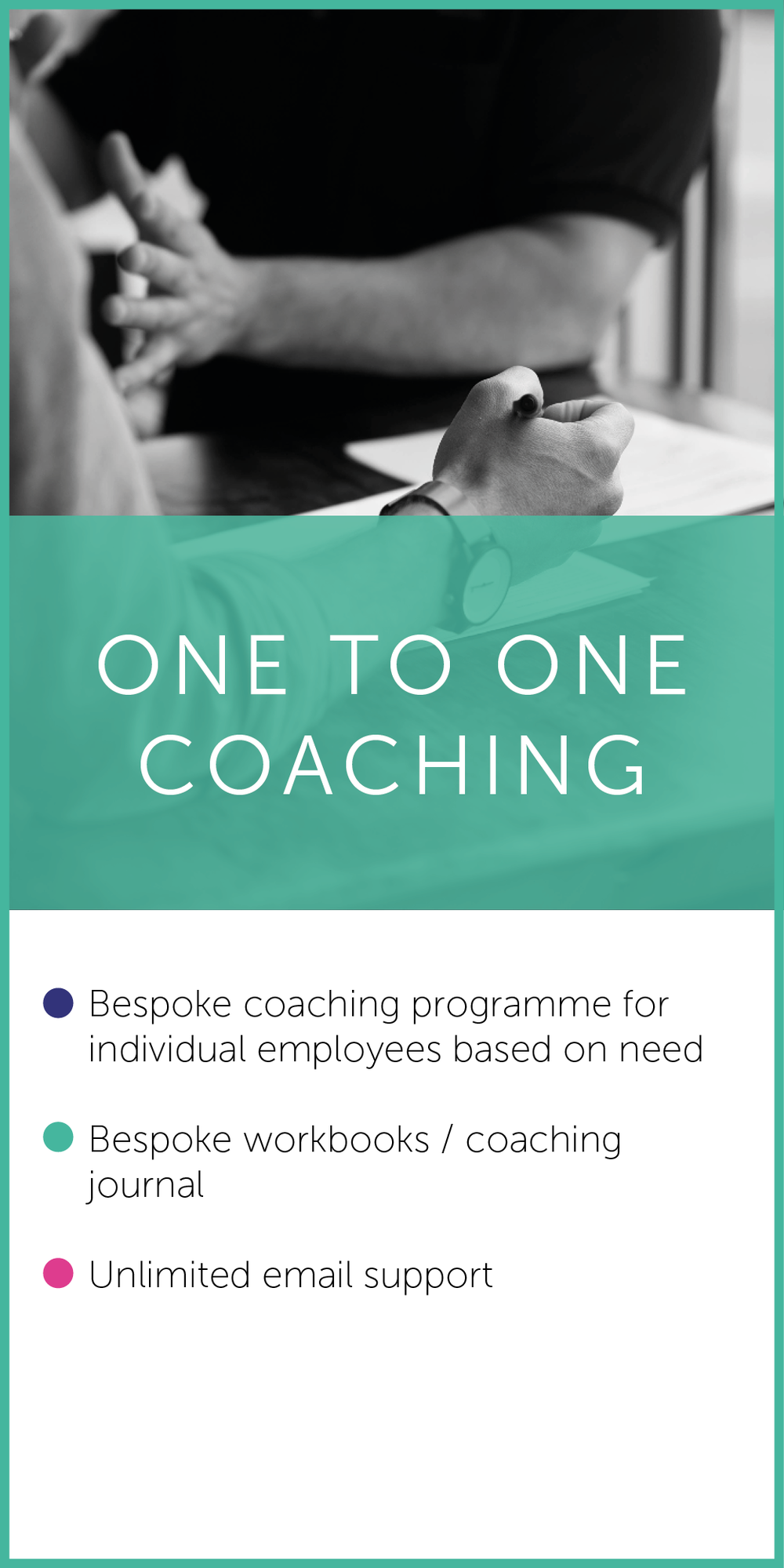 ONE TO ONE COACHING - Beingworks