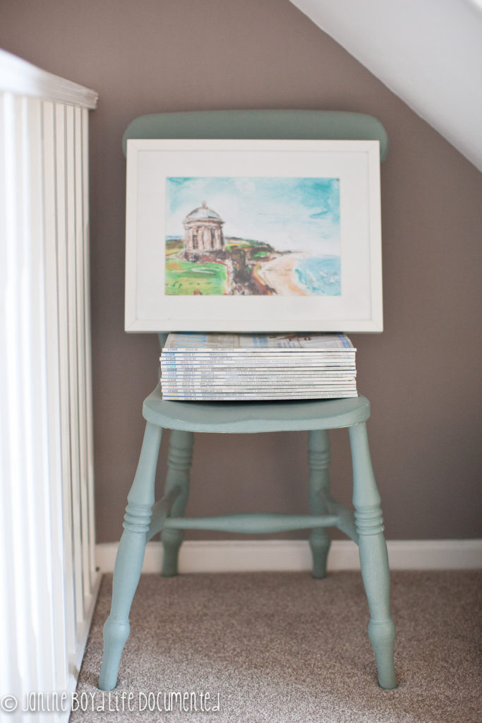 One of my absolute favourites is this of Mussenden Temple which resides on our landing