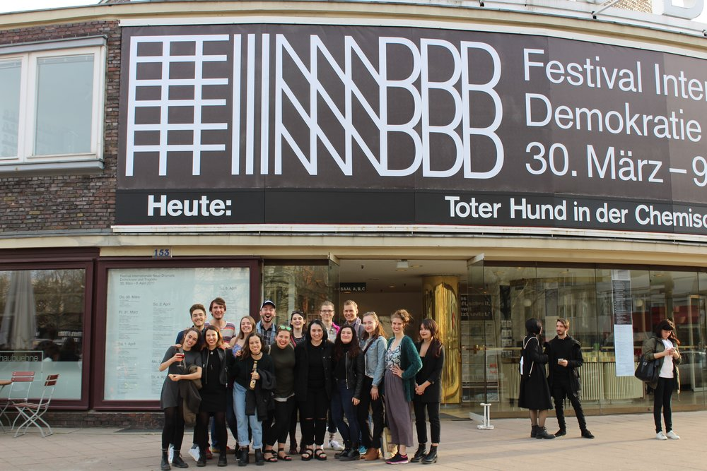 at the FIND Festival at the Schaubühne