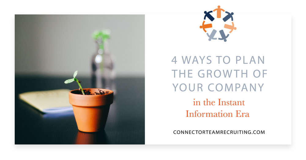 4 Ways to Plan the Growth of Your Company | Connector Team Recruiting.jpg