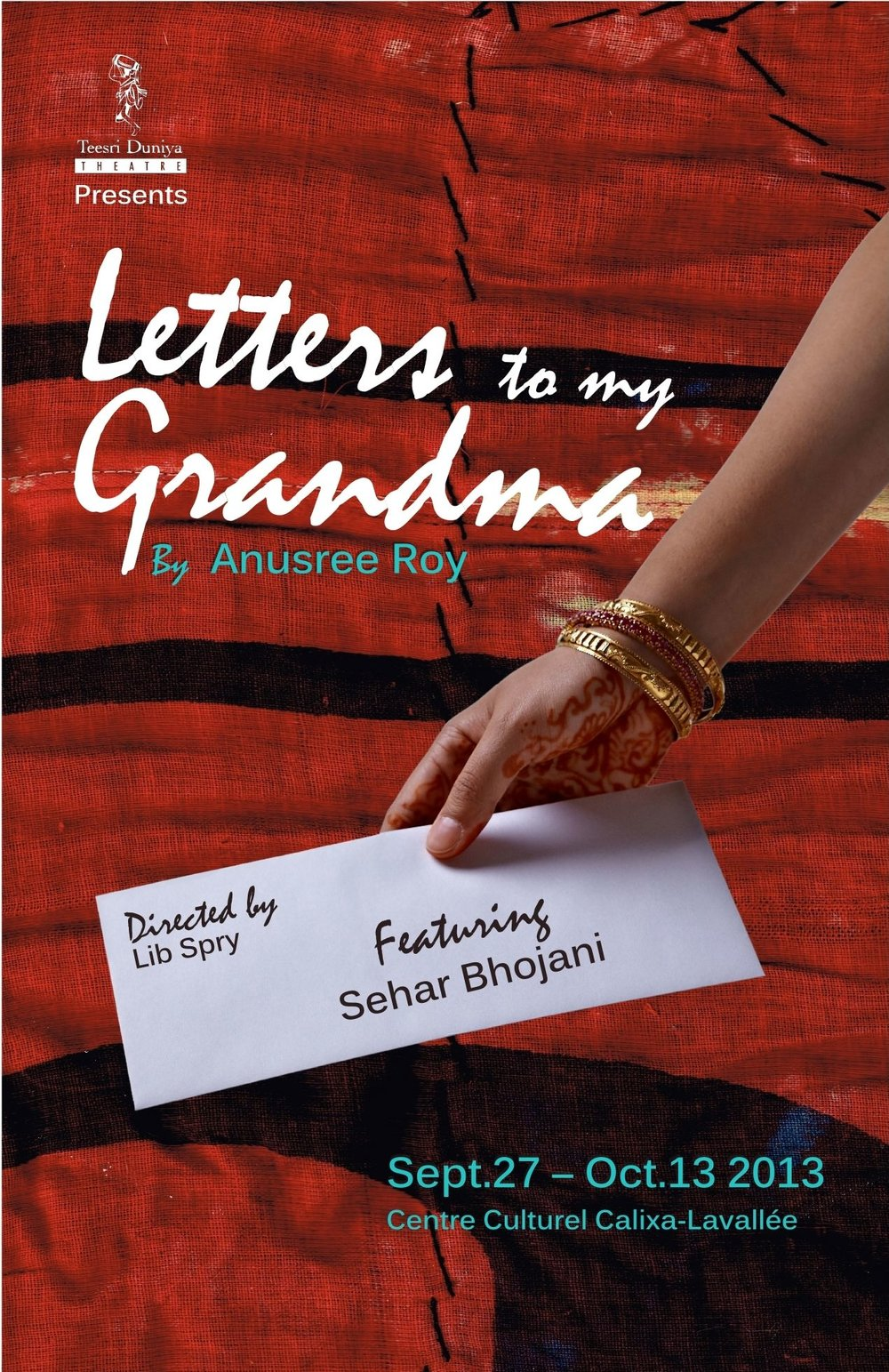 Letters to My Grandma - 2013