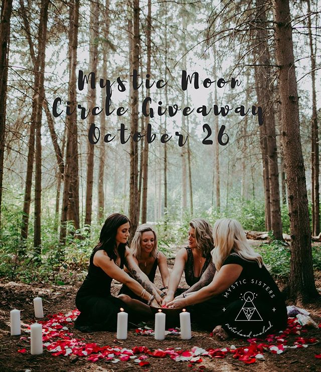 MYSTIC MOON CIRCLE GIVEAWAY ✧ Come join us for an evening of deep connection on Friday October 26 from 7-9 pm @empoweredyoga.ca . ✧ We are giving away 40 spots for this event where you can experience the power of genuine female connection, shop for ritual tools from both ourselves and @goddesswands and circle with women who are committed to their own inner growth. ✧ The how-tos: please like this post, follow our page, and tag 3 friends to be entered into the giveaway. Contest will close at 8:00 am MST on Sunday October 7, and winners will be announced shortly afterwards. ✧ 'Without genuine sisterhood we remain girls competing to reach an idealized version of perfection impossible to reach.' ~ Rebecca Campbell. ✧ Gather in circle with us to experience the empowerment of a sisterhood evolved. ✧ Mystic Sisters ✧ 📸 @sherrieellisphotography . ✧ #mysticsisters #sisterhood #circle #mooncircle #sisterhoodevolved #yeghealer