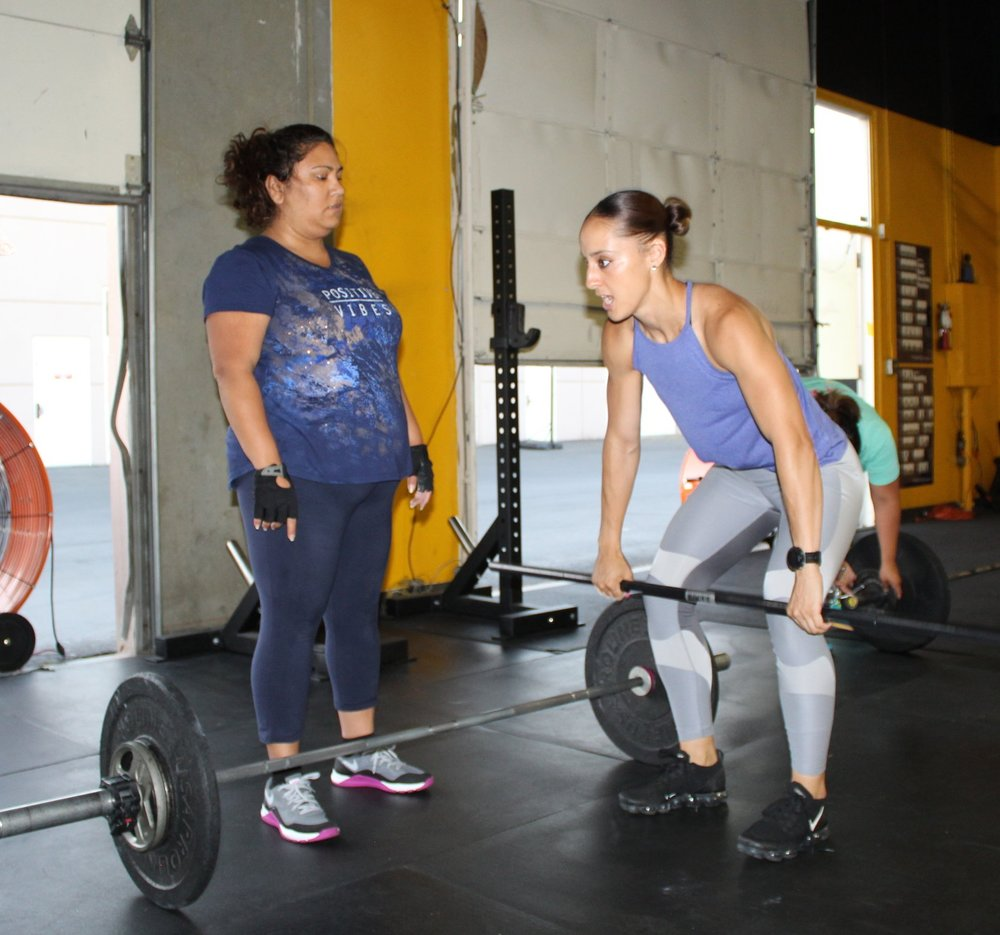 Learn CrossFit with us! - Don't be intimidated to try CrossFit! We have experienced coaches that can walk you through the Fundamentals, New Athlete series! Reserve online.