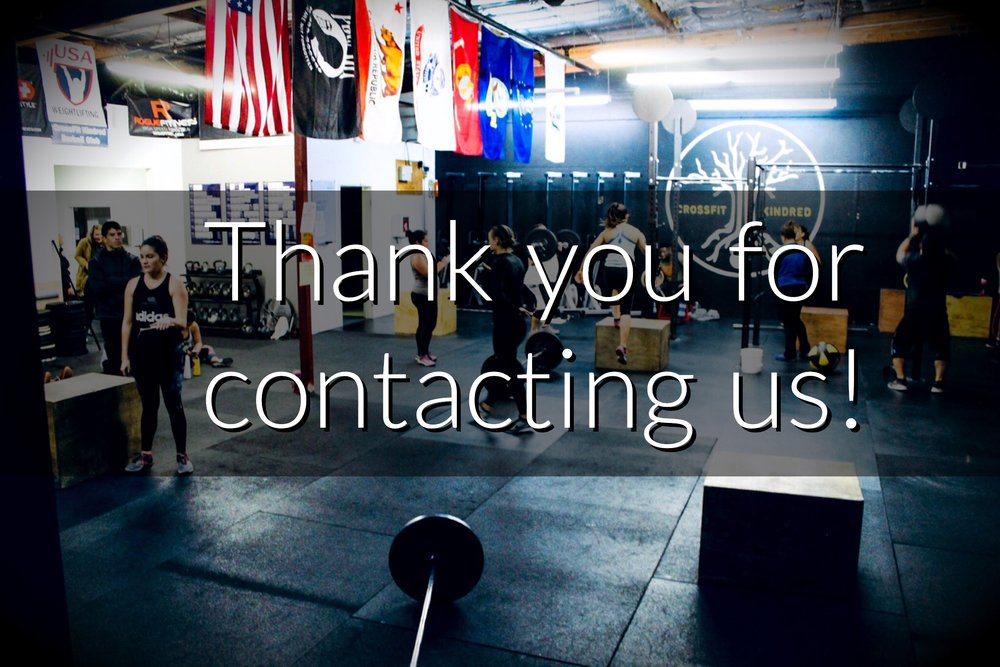 We received your message. - our staff will be reaching out to you soon!