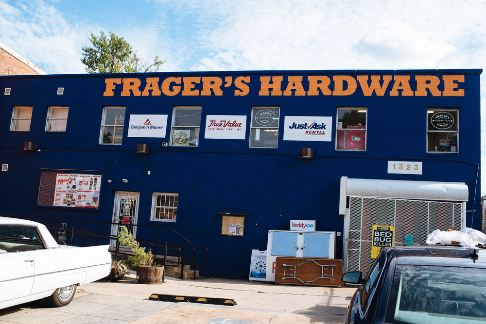 Need accent wall paint, let the folks at Frager's Hardware show you options