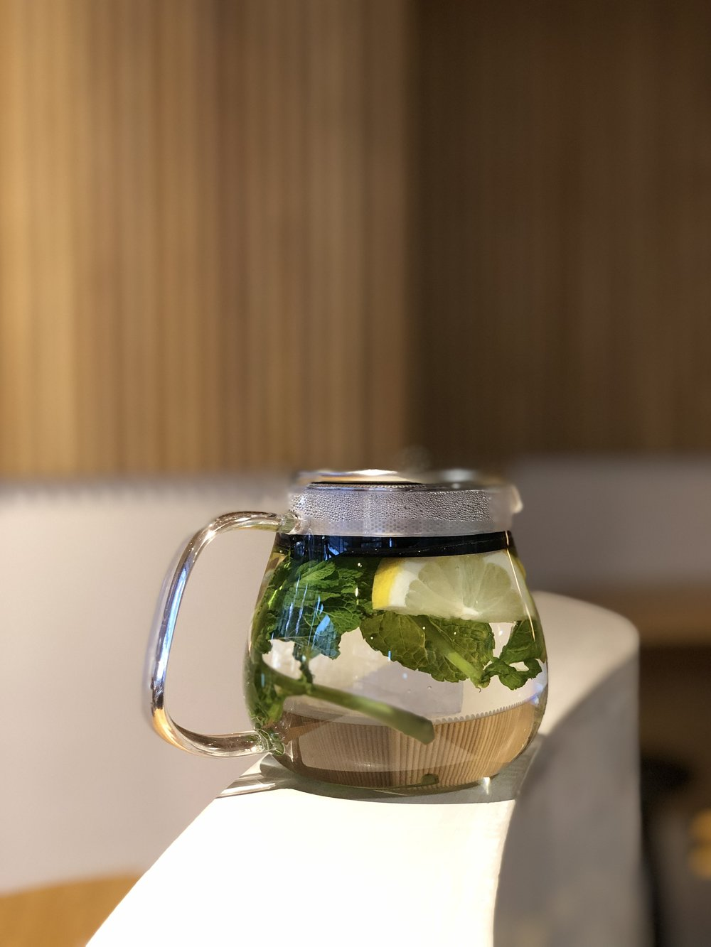 Fresh Mint & Lemon Tea -