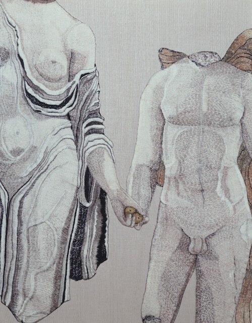 Detail: Aphrodite and Eros