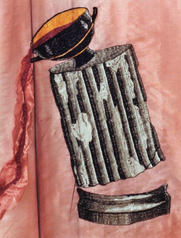 Detail 1: Maenad in Ecstacy