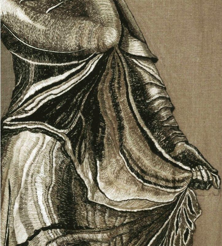 Detail 1: A Woman Veiled