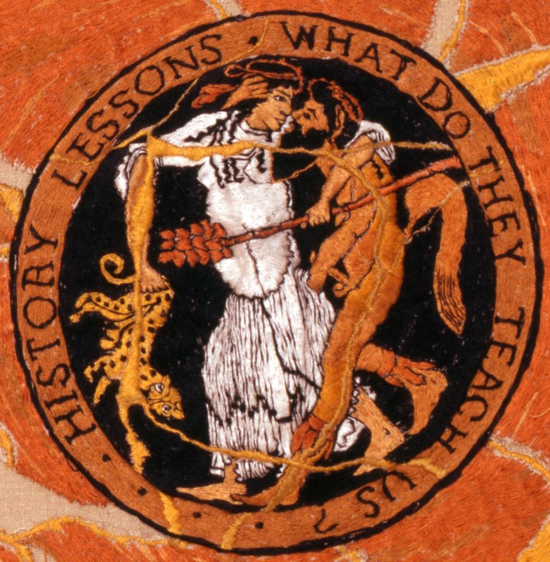 Detail: Submission (Maenad  Submitting [?] to a Satyr)
