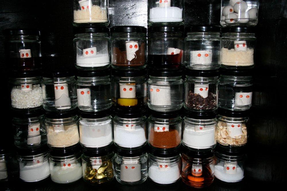 Specimen Thought Jars
