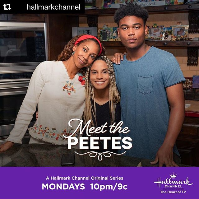 #Repost @hallmarkchannel  It's a big week for @ryanepeete and @RobinsonPeete on #MeetthePeetes! Join @hollyrpeete in watching them grow up in a new episode this Monday at 10pm/9c. #MeetPeete's #MondayNight #MondayNightsJustGotBetter #MondayMonday #WeLikeMondays #MondayMood #Monday'sBeLike #MeetThePeetesMondays #MagicMondays #MondayNightIsAllRight #Peeties #TeamPeeties