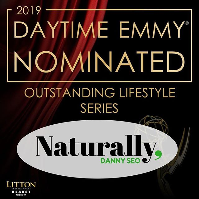 #Repost @naturallydannyseo  #NaturallyNBC is thrilled to announce our 46th Annual @DaytimeEmmys Awards nomination! A huge thank you to all of our dedicated crew members & supportive fans. #NaturallyDannySeo #EmmyNomination #DaytimeEmmys #DaytimeEmmyNomination #DaytimeEmmyNomination2019 #EmmyNom
