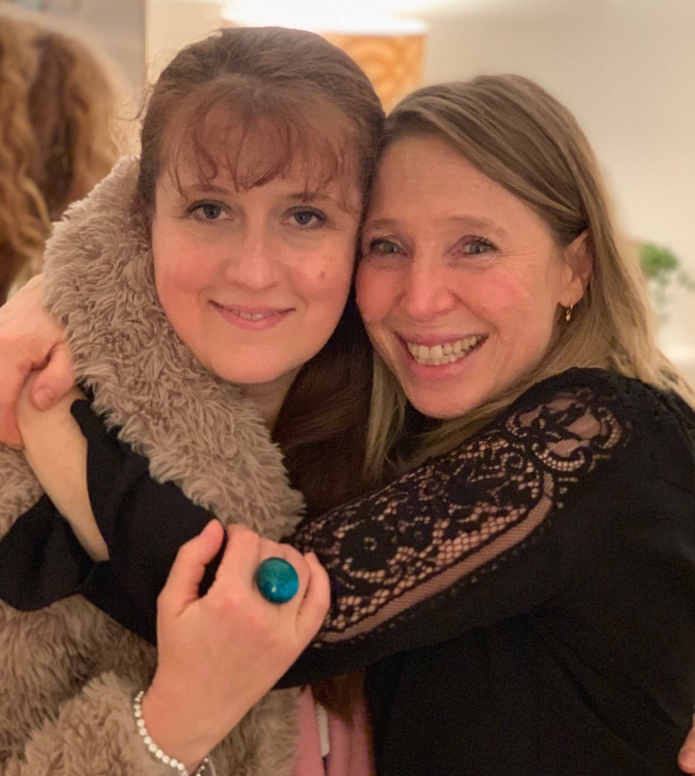Daniela with Annabel Bowman (Jan. 2019)