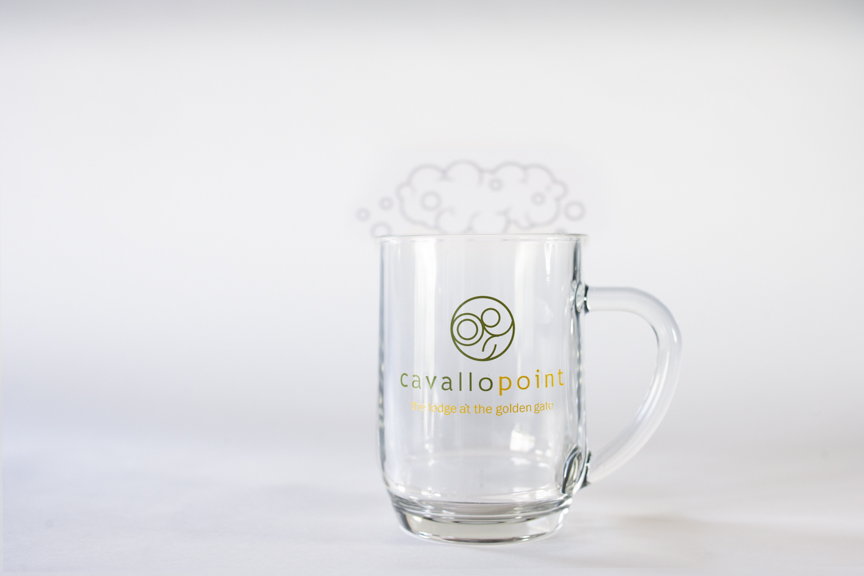You may also like: - Cavallo Point Glass Mug