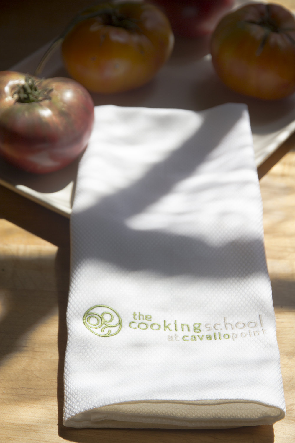 You may also like: - Cavallo Point Cooking School Tea Towel