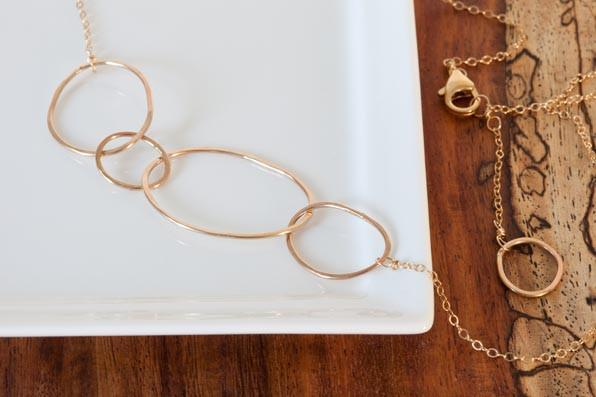 You may also like: - Colleen Mauer Organic Four Loop Necklace