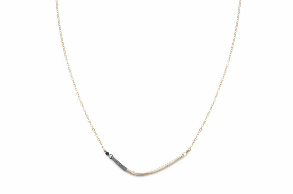 You may also like: - Colleen Mauer Mini Inflecto Necklace